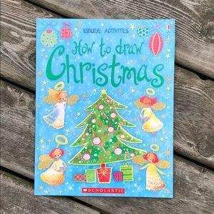 Scholastic Usborne How to Draw Christmas 🎄